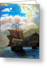 The Galleon Greeting Card