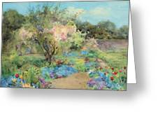 The Garden At Kilmurry Greeting Card