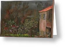 The Garden Boris Grigoriev Greeting Card