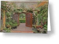 The Garden Door Greeting Card