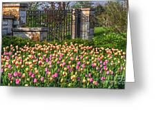 The Garden Enterance Greeting Card