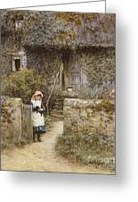 The Garden Gate Greeting Card