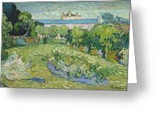 The Garden Of Daubigny Greeting Card
