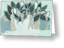 The Garden Of Eden Greeting Card
