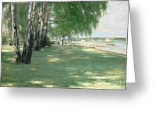 The Garden Of The Artist In Wannsee Greeting Card