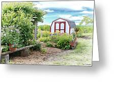 The Garden Shed Greeting Card