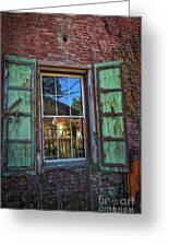 The Garden Window Greeting Card