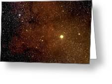 The Garnet Star Greeting Card