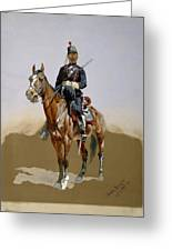 The Gendarme Greeting Card