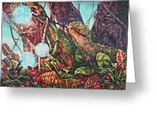 The Genesis Totem Greeting Card