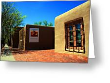 The Georgia O'keeffe Museum In Santa Fe Greeting Card