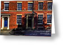 The Georgian Terraces At Riversdale Place 2 Greeting Card