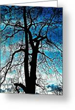 The Ghostly Tree Greeting Card