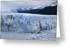 The Glacier Advances Greeting Card