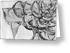 The Glass Rose Greeting Card