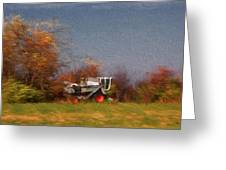 The Gleaner In Repose Greeting Card