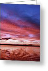 The Gloaming Of Lac Vieux Desert Greeting Card