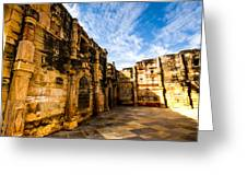 The Glorious Ruins Greeting Card