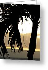 The Glow Of Maui Greeting Card