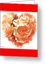 The Glow Of Roses Greeting Card