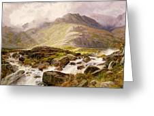 The Glyder Fawr  Greeting Card