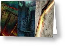 The Gods Triptych 1 Greeting Card by Ken Walker