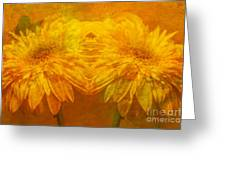 The Gold Mirror Greeting Card