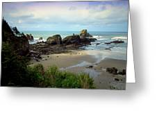 The Gorgeous Northwest Pacific Coastline Greeting Card