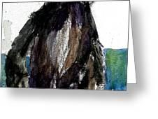The Gorilla Snub Greeting Card