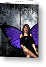 The Gothic Fae Lady Greeting Card