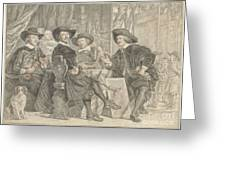 The Governors Of The Longbow Archers Greeting Card