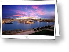 The Gran Harbour Greeting Card