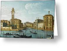 The Grand Canal At The Entrance Greeting Card