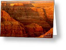 The Grand Canyon West Rim Greeting Card