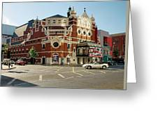 The Grand Opera House On Great Victoria Street, Belfast Greeting Card