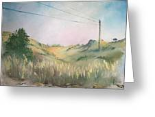 The Grass Greeting Card