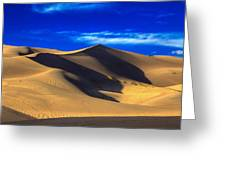The Great Dunes National Park Greeting Card