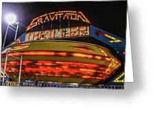 The Gravitron Greeting Card
