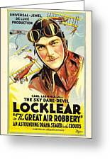 The Great Air Robbery 1919 Greeting Card