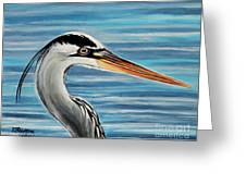 The Great Blue Heron Greeting Card