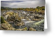 The Great Falls Of The Potomac Greeting Card