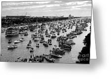 The Great Flotilla Greeting Card