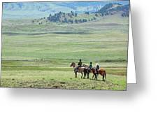 The Great Montana Expanse Greeting Card