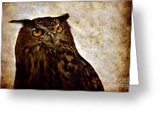 The Great Owl Greeting Card