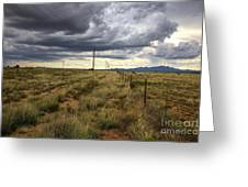 The Great Plains Of New Mexico Greeting Card