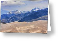 The Great Sand Dunes Color Print 45 Greeting Card