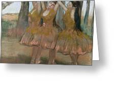 The Greek Dance Greeting Card