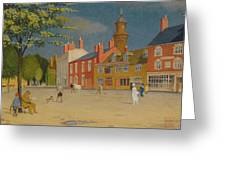 The Green At Banbury Greeting Card