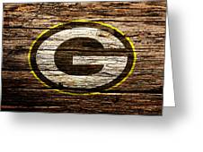 The Green Bay Packers 1b Greeting Card