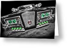 The Green Hornet - Black Beauty Greeting Card
